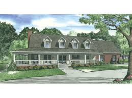 Country Ranch House PlansCape Cod Floor Plans With Wrap Around Porch