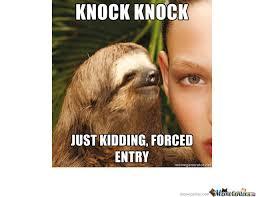 Memes Vault Creepy Sloth Memes – Goodnight via Relatably.com