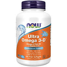 Now Foods, <b>Ultra Omega 3-D</b>, 90 Softgels: Amazon.in: Health ...