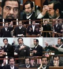 「2006年 - 元イラク大統領サッダーム・フセインに対し死刑判決。」の画像検索結果
