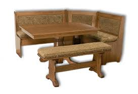 traditional style breakfast nook 5 pieces amish breakfast nook set