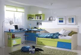 awesome bedrooms designs with kids trundle bed ikea splendid design ideas using l shaped blue bed desk set