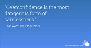 Image result for over confidence