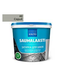<b>Затирка Kiilto</b> Saumalaasti 040 серая 1 кг — купить в Петровиче в ...