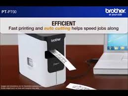 <b>Brother P-Touch P700</b> Label Printer - YouTube