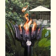 outdoor torch lighting. outdoor gas lighting offers old world charm light torch n