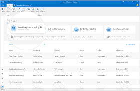 introducing outlook customer manager relationships made easy for introducing outlook customer manager 2b