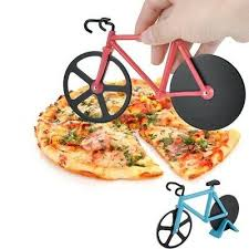 <b>Bike Pizza Cutter Knives</b> Non-stick Two-wheel Bicycle Shape Pizza ...