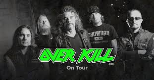 "<b>Overkill ""THE GRINDING</b> WHEEL"" Australian Tour 