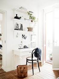 small white home office black white home office cococozy 5