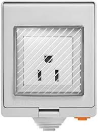 <b>SONOFF S55</b> WiFi Smart Socket, <b>IP55</b> Waterproof Smart Plug Outlet ...