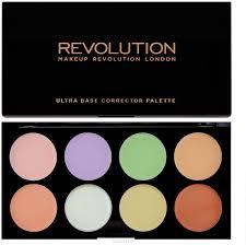 <b>Makeup Revolution Набор цветных</b> корректоров Ultra Base ...