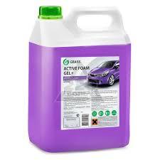 <b>Автошампунь Grass 113181 Active</b> Foam GEL+ - купить, цена и ...