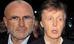 Phil Collins reveals secret 14 year feud with Paul McCartney | Daily ...