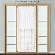 patio doors with blinds between the glass: windsor lace door panel o  windsor lace door panel
