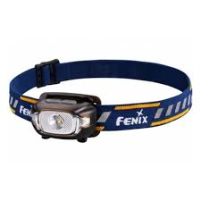<b>Налобный фонарь Fenix HL15</b> черный , 200 ANSI, IP67 — купить ...