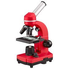<b>Микроскоп Bresser Junior Biolux</b> SEL 40–1600x красный купить в ...