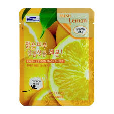 <b>Тканевая маска</b> 3W Clinic Fresh Lemon Mask Sheet – купить в ...