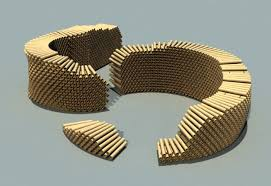 cardboard tube pavilion cardboard tubes