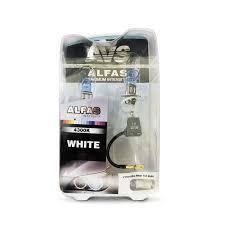 """Газонаполненные <b>лампы AVS</b> """"<b>Alfas</b>"""" +130% 4300K H3 комплект ..."""