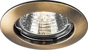 <b>Встраиваемый светильник Feron DL307</b> античное золото купить ...