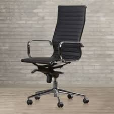 brayden studio kingston high back leather office chair with arms allmodern chesterfield presidents leather office chair amazoncouk