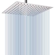 Large Rainfall <b>Shower</b> Head, Voolan Adjustable 12'' Luxury Fixed ...