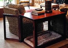 wood wire dog crate front entry furniture style dog crates