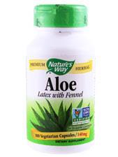 Aloe Vera - <b>Aloe Latex With Fennel</b>