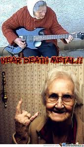 Death Metal Memes. Best Collection of Funny Death Metal Pictures via Relatably.com