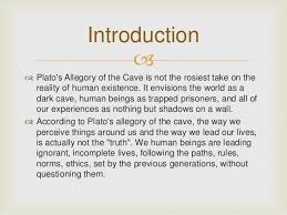 Image result for plato's allegory of the cave
