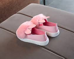 Cute Single Shoes,Baby Girl Bunny <b>Rabbit Ear</b> Shoes Soft <b>Anti</b>-<b>Slip</b> ...