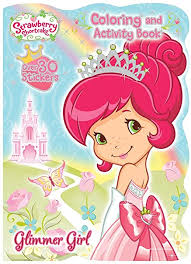<b>Strawberry</b> Shortcake Jumbo Coloring and Activity Book with ...