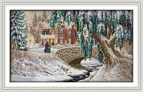 <b>Everlasting love</b> Christmas <b>Snow</b> covered landscape(5) Ecological ...