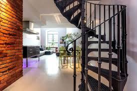 black spiral stair railings beautiful custom interior stairways
