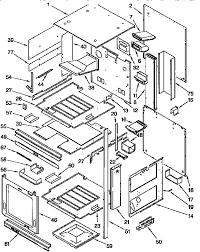 kitchenaid kgbs276xblo gas range timer stove clocks and kgbs276xblo gas range external oven parts diagram