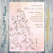 holiday invitation diy template christmas tea editable printable holiday invitation diy template christmas tea editable printable instant microsoft word digital file