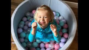 Romana Airpool Детский <b>сухой бассейн</b> (серый) - YouTube