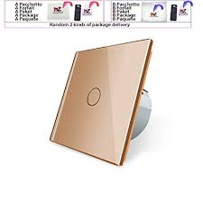 Wall Touch Sensor Switch EU Standard Light Switch ... - Amazon.com