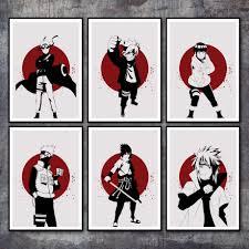 Canvas <b>Printed</b> Poster <b>Home Decorative</b> Nordic Style <b>Hd</b> Anime ...