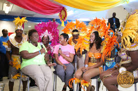 the grand life team making its presence felt at junkanoo btc live tv show members of the grand life team got their time