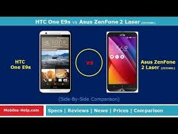 HTC One E9s vs Asus ZenFone 2 Laser - Check Out The Difference ...
