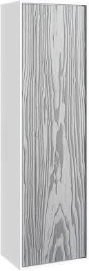 <b>Пенал подвесной миллениум</b> серый/белый глянец Aqwella 5 ...