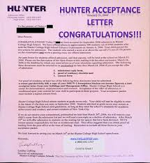 exam prep hunter college high school queens manhattan new hunter acceptance letter expect results to be released by 15 via an email to parents