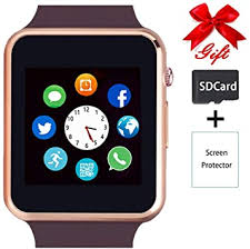 Smart Watch,Unlocked <b>Touchscreen Smartwatch</b> Compatible with ...