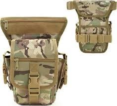 <b>Multi</b>-<b>functional</b> Tactical Drop Leg <b>Bag Outdoor Bike Cycling</b> Thigh ...