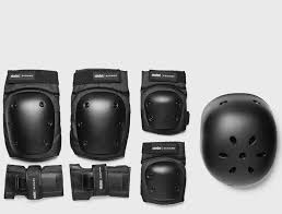 Original <b>Ninebot segway</b> protection set <b>helmet electric</b> unicycle knee ...