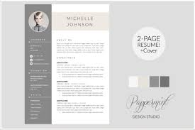 modern resume templates docx to make recruiters awe  modern cv docx cover letter by pappermint