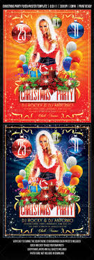 christmas party concert flyer poster design by fadeink christmas party concert flyer poster design by fadeink graphicriver