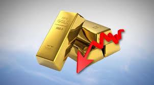 Hasil gambar untuk Emas Berada Di dekat Dua-Minggu Terendah